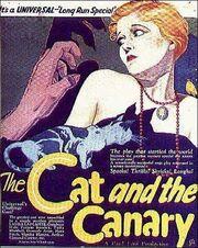 CatandtheCanaryPoster