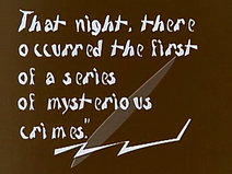 The Cabinet of Dr. Caligari intertitle