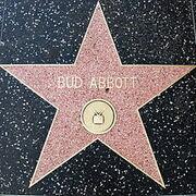 Bud Abbott's Walk of Fame Star