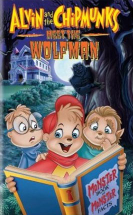 Alvin and the chipmunks meet the wolfman vhs cover