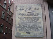 Edgar Allan Poe Birthplace Boston