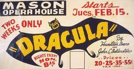 Dracula by Hamilton Deane & John L. Balderston 1938