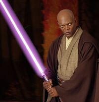 Mace Windu purple Lightsaber