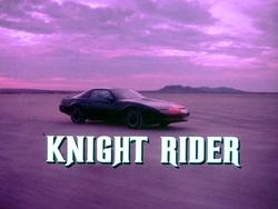 Knight rider logo