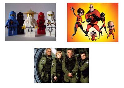 Ninjago,SG1,Incredibles Army