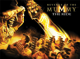 Revenge of the mummy ride