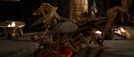 The Scorpion King's death