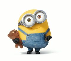 Minions bob and his teddy bear 2
