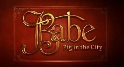 Babe pig in the city title card