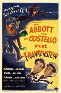 Abbott & Costello meet Frankenstien