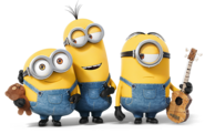 Kevin stuart and bob minions
