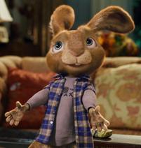 E.b. says human easter bunny