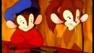 An American Tail Fievel Goes West (1991) (VHS Trailer)