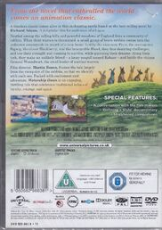 Watership Down DVD Back