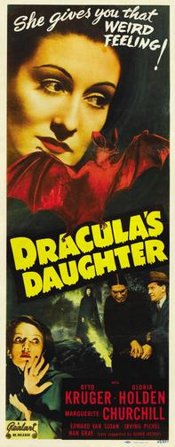 Draculas Doughter original Poster 1936