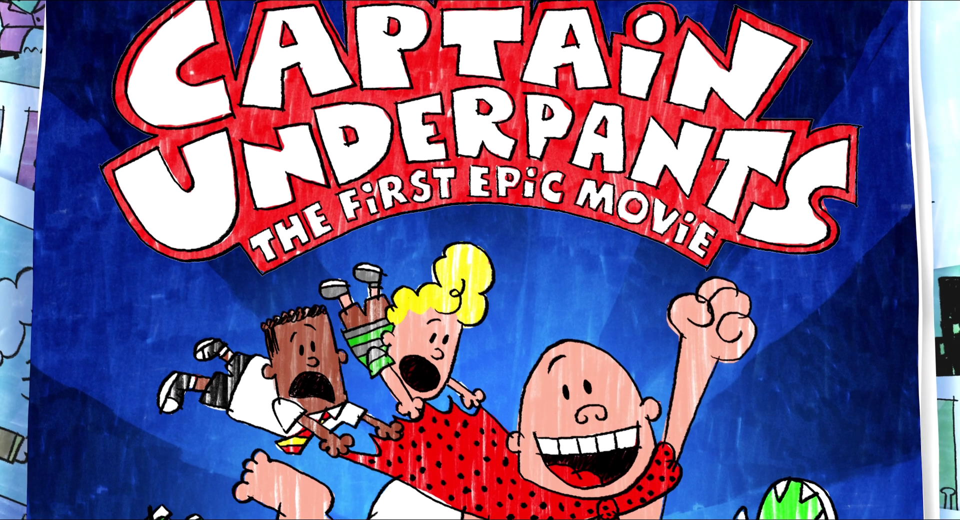 Captain Underpants The First Epic Movie Universal Studios Wiki Fandom