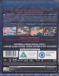 Watership Down Blu-Ray Backside