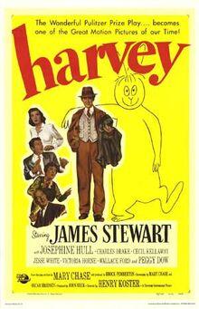 Harvey 1950 poster