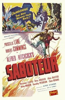 Saboteurposter