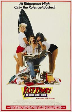 Fast Times at Ridgemont High film poster