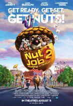Nut job two nutty by nature poster