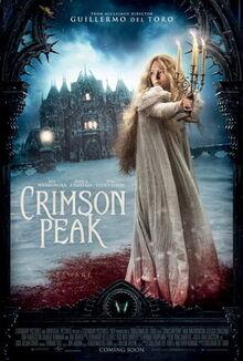 Crimson Peak theatrical poster