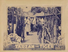 Tarzan the Tiger (movie poster)