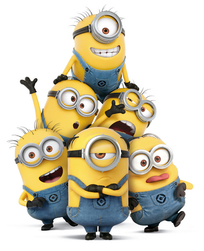 Mel and minions despicable me 3