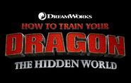 Dragon the hidden world logo