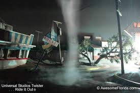 Universal Studios Twister Ride it Out