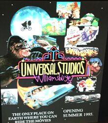 Universal Studios Williamsburg Teaser Poster 1994.