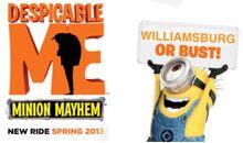 Despicable Me-Minon Mayhem Teaser Picture 2012.