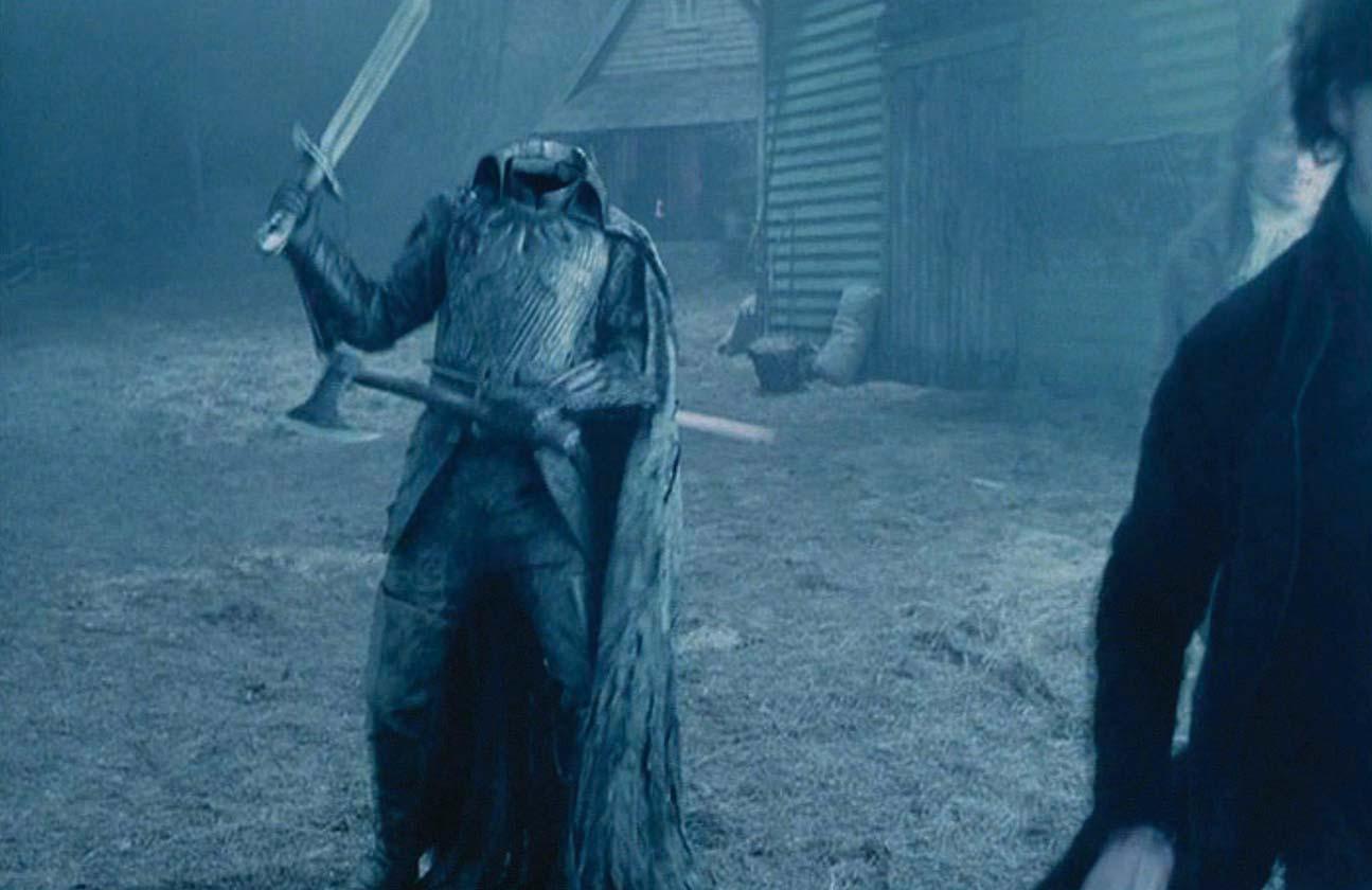 who is the headless horseman in sleepy hollow movie