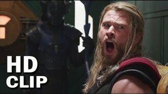 "Thor Ragnarok Stan Lee Cuts Thor Hair Scene Thor""NO NOoOo""!!! Thor Ragnarok 2018"
