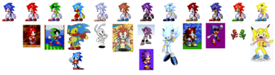Hacked sonic pawlette swaps