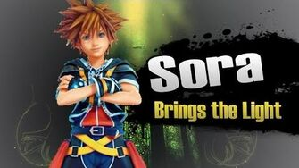 Smash bros Lawl X Character Moveset - Sora