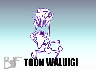 Toon Waluigi | Universe of Smash Bros Lawl Wiki | FANDOM
