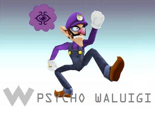psycho waluigi cheats