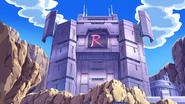 Team Rocket HQ anime