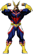 All Might Hero Form Full Body