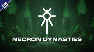 Necron Dynasties Warhammer 40,000