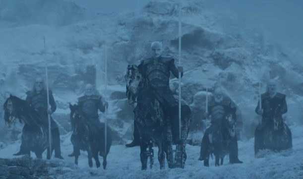 Image result for the white walker army