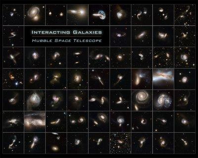 Atlas galaxias colision hst
