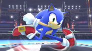SSB4 Wii U - Sonic Screenshot