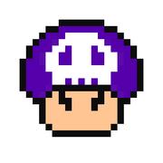 Super mario bros poison mushroom by kajikingstarzky-d4mlg2d