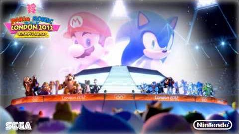 Mario & Sonic London 2012 Music - Dream Trampoline (Crazy Gadget)