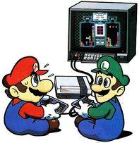 465px-MarioBrosPlayingNintendo