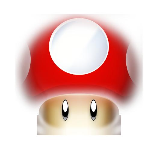 mario mushroom png transparent