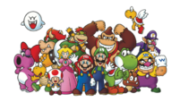 640px-Club Nintendo Characters Poster