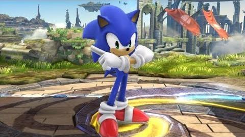 Super Smash Bros. - Sonic Joins the Battle! (Nintendo 3DS Wii U)